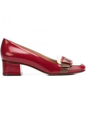 Туфли с пряжкой LAutre Chose L'Autre. Цвет: красный