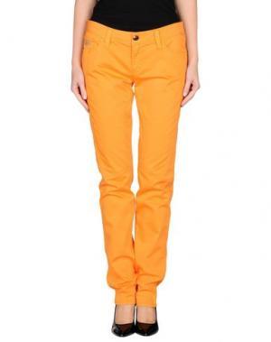 Повседневные брюки CHIRIBIRI. Цвет: оранжевый