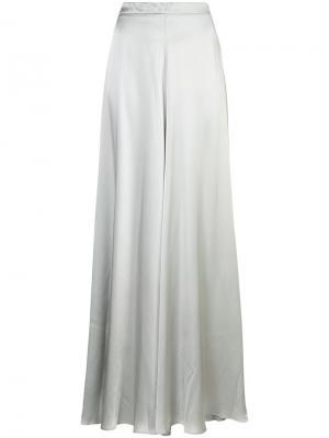 Широкие брюки Voz. Цвет: серый
