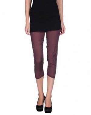 Повседневные брюки GOTHA. Цвет: фиолетовый