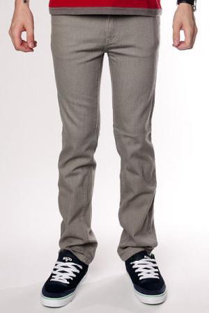 Джинсы узкие  Jeans Grey Zero. Цвет: серый