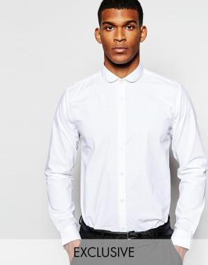 Wincer & Plant Облегающая строгая рубашка эксклюзивно для. Цвет: белый