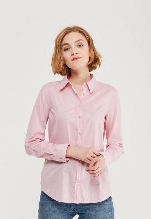 Рубашка United Colors of Benetton. Цвет: розовый