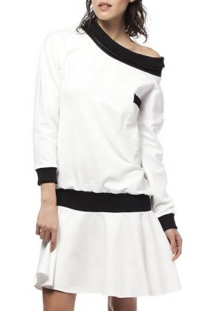 Платье BE WEAR. Цвет: белый