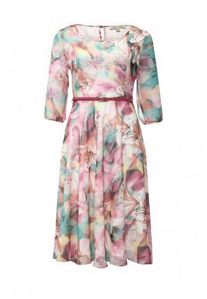 Платье Devore. Цвет: разноцветный