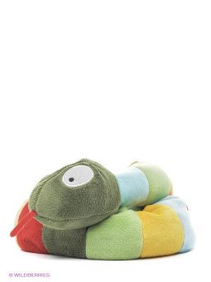 Игрушка-грелка Cozy Plush Змея Warmies. Цвет: зеленый