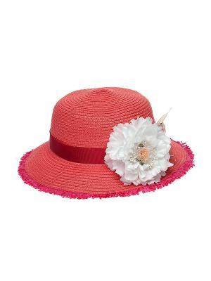 Шляпа Jane Flo. Цвет: коралловый