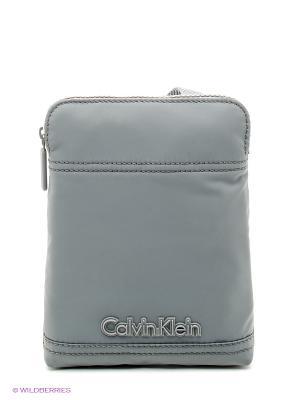 Сумка Calvin Klein. Цвет: серый