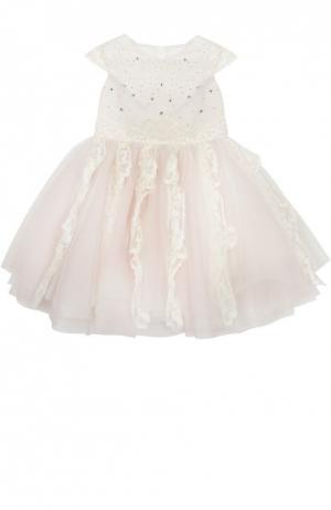 Платье I Pinco Pallino. Цвет: розовый