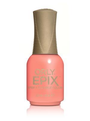 Эластичное цветное покрытие EPIX Flexible Color 918 CALL MY AGENT ORLY. Цвет: оранжевый