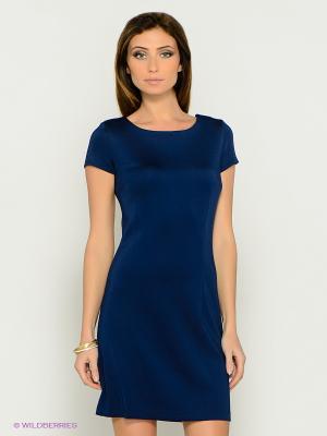 Платье MONDIGO. Цвет: синий