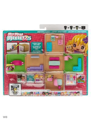 Мини-игровой набор My Mini MixieQ Mattel. Цвет: красный, бирюзовый, голубой, розовый