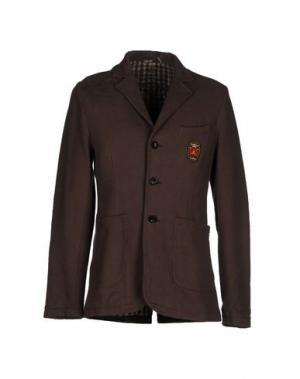 Пиджак FRIEDRICH GRAHAM. Цвет: темно-коричневый