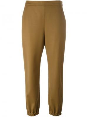 Зауженные брюки Sonia Rykiel. Цвет: коричневый
