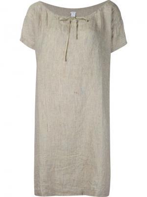 Платье с короткими рукавами Dosa. Цвет: телесный