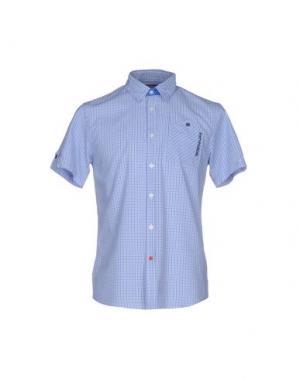 Pубашка 55DSL. Цвет: лазурный
