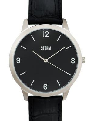 Часы STORM ELWOOD BLACK 47265/BK Storm.. Цвет: черный, серебристый