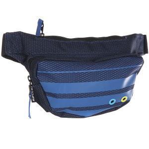 Сумка поясная  Pro Game Waistbag Blue Rip Curl. Цвет: синий,голубой