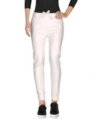 Повседневные брюки GRAZIA'LLIANI. Цвет: слоновая кость