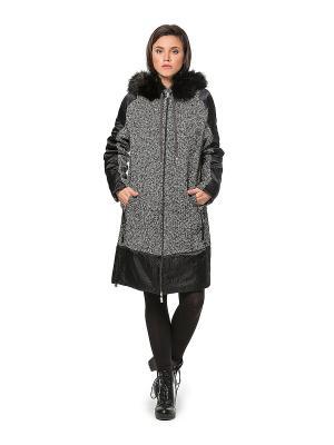Пальто HELMIDGE. Цвет: серый, черный