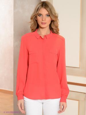 Блузка ZENDRA. Цвет: малиновый