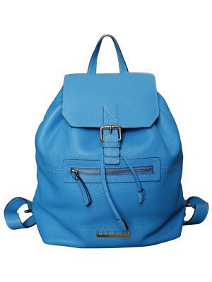 Рюкзак Becato. Цвет: голубой