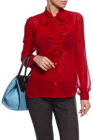 Блуза D.Exterior. Цвет: красный