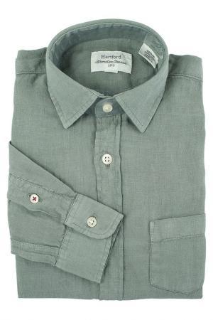 Рубашка HARTFORD. Цвет: серый
