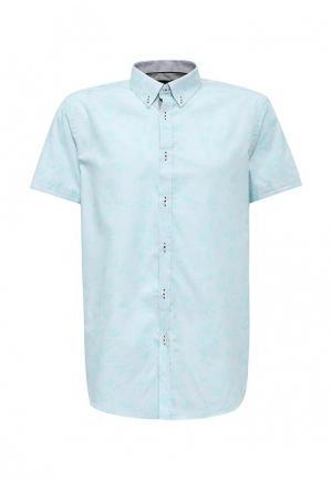 Рубашка Burton Menswear London. Цвет: бирюзовый