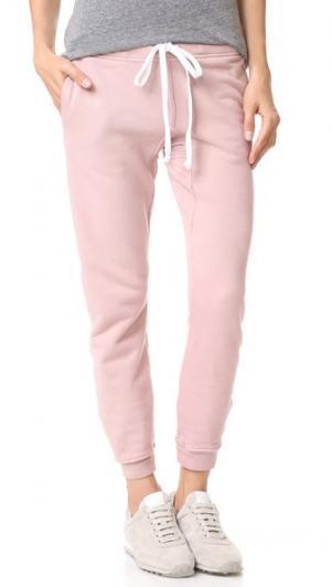 Спортивные брюки для бега Rxmance. Цвет: розовый