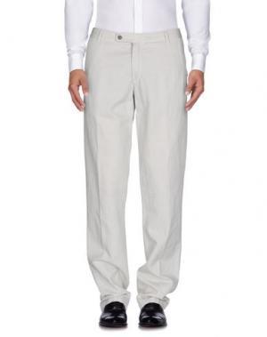 Повседневные брюки PANAMA. Цвет: светло-серый