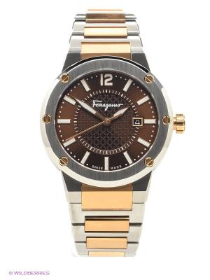 Часы Salvatore Ferragamo. Цвет: бронзовый