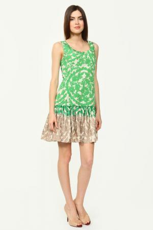 Платье Scervino Street. Цвет: зеленый