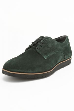 Туфли Etor. Цвет: зеленый, милан