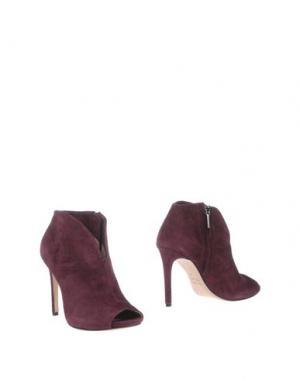 Полусапоги и высокие ботинки THE SELLER. Цвет: пурпурный