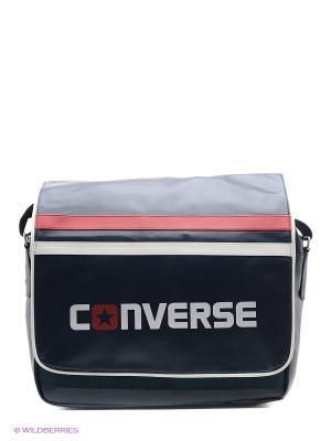 Сумка с плечевым ремнем Flapbag Converse. Цвет: синий