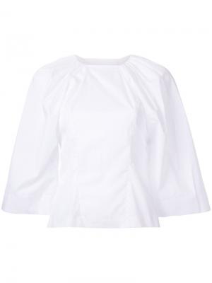 Блузка Alice Bianca Spender. Цвет: белый