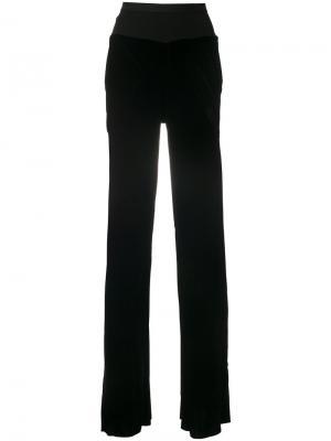 Расклешенные брюки Rick Owens. Цвет: чёрный