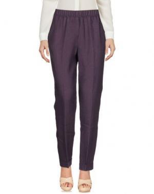Повседневные брюки ROSSO35. Цвет: фиолетовый