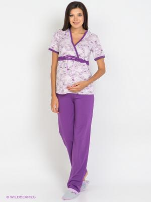 Пижама Nuova Vita. Цвет: фиолетовый