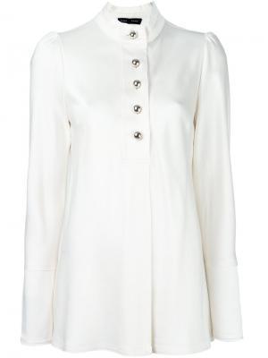 Блузка с длинными рукавами Proenza Schouler. Цвет: телесный
