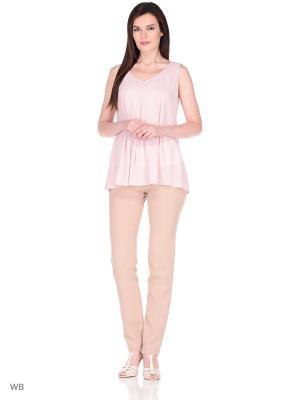 Блузка DEVORE. Цвет: бледно-розовый, розовый