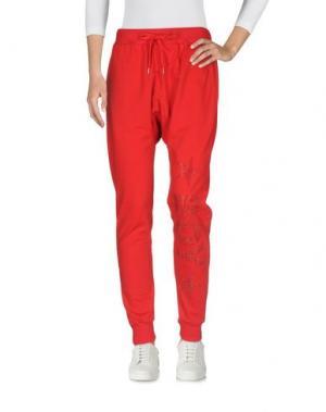 Повседневные брюки BOY LONDON. Цвет: красный