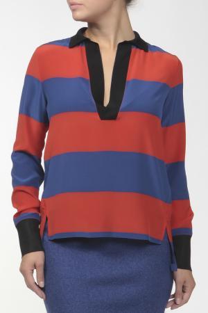 Блуза Stella McCartney. Цвет: красно-синий