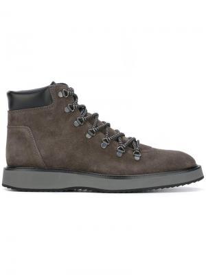 Ботинки Route X Hogan. Цвет: серый