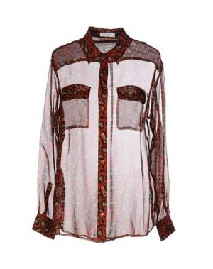 Pубашка EQUIPMENT FEMME. Цвет: кирпично-красный