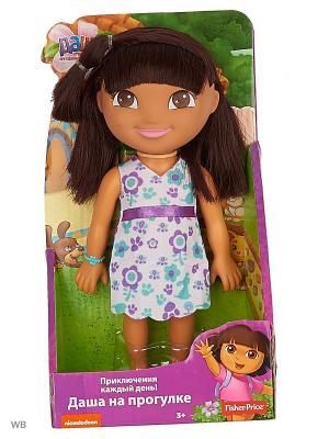 Даша-путешественница  Кукла День рождения Даши Mattel. Цвет: фуксия, белый