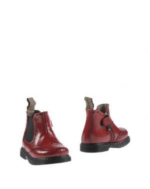Полусапоги и высокие ботинки JARRETT. Цвет: красный