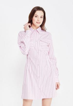 Платье Lavlan. Цвет: розовый