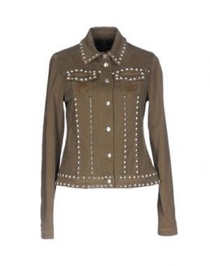 Куртка MANUEL LUCIANO. Цвет: хаки